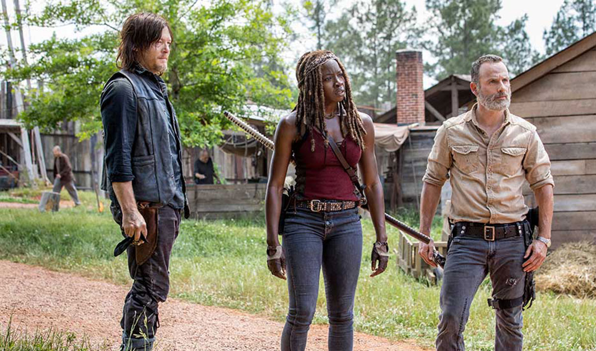 Scott Gimple Talks to <em>TVLine</em> About Rick&#8217;s Ending; <em>Deadline</em> Unveils Season 9 Art