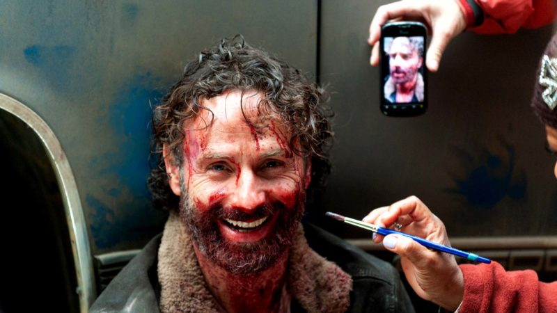 The Walking Dead Cast Thanks Andrew Lincoln