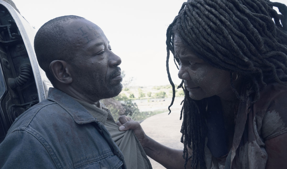 Morgan and Martha Face Off in the <em>Fear the Walking Dead</em> Season 4 Finale