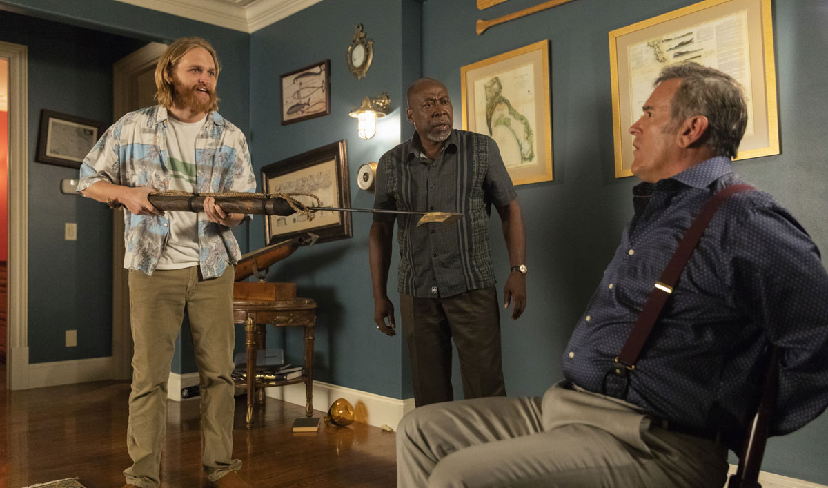 Why Being in the Middle of a Con Is a Good Thing on <em>Lodge 49</em>