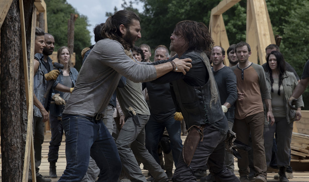 See What Unrest at the Other Camps Means for Rick and Daryl — Watch <em>The Walking Dead</em> Episode 2