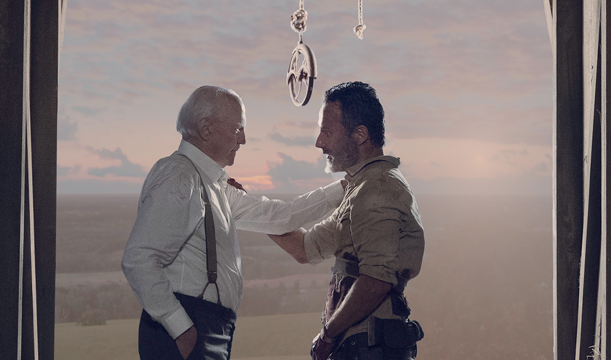 Andrew Lincoln Talks Exit With <em>NYT</em>; <em>Variety</em> on Upcoming Rick Films