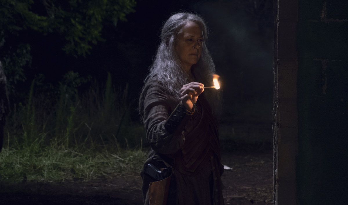 See What Went Into Carol's Fiery Revenge on the Saviors in <em>The Walking Dead</em> Episode 6