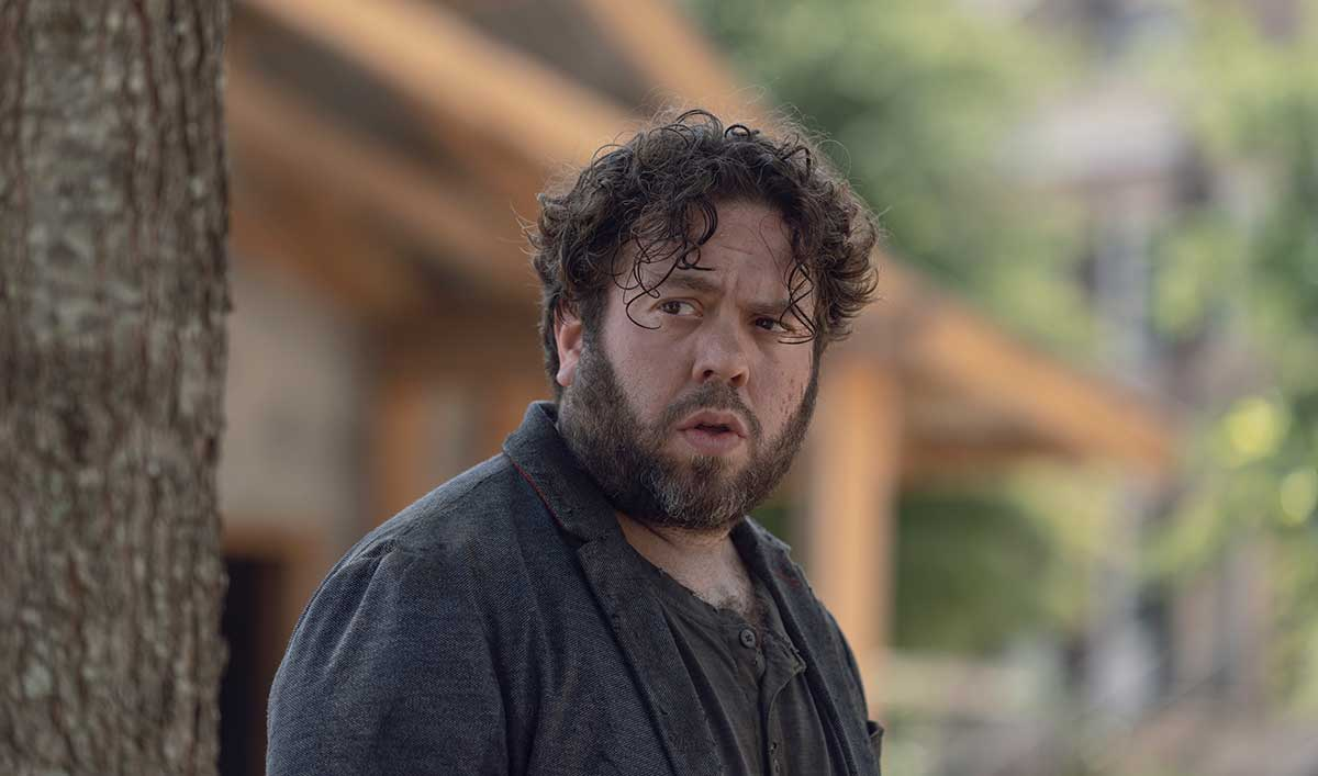 (SPOILERS) <em>The Walking Dead</em> Q&A — Dan Fogler (Luke)