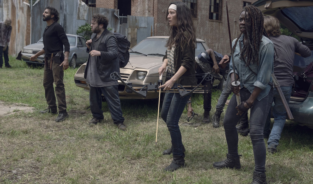 Watch <em>The Walking Dead</em> Episode 7: Can Michonne Be Convinced the New Group Is Harmless?