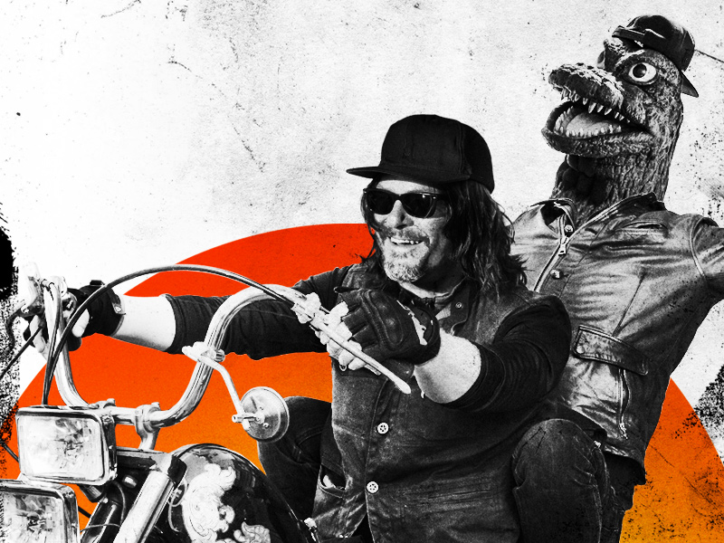 ride with norman reedus and sean patrick flanery