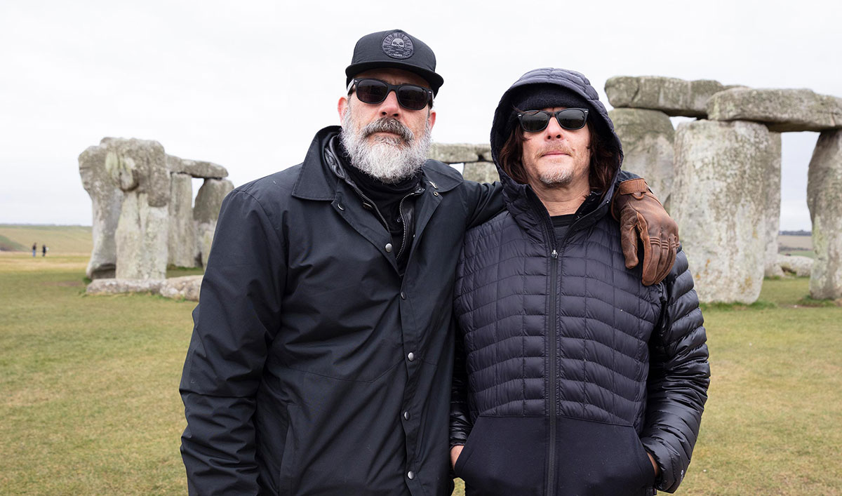 Norman Reunites With Jeffrey Dean Morgan and Andrew Lincoln in the Season 3 Premiere