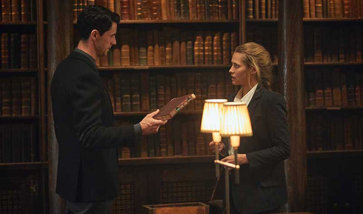 <em>TVLine</em> on <em>A Discovery of Witches</em> on AMC; <em>EW</em> on Favorable Timeslot