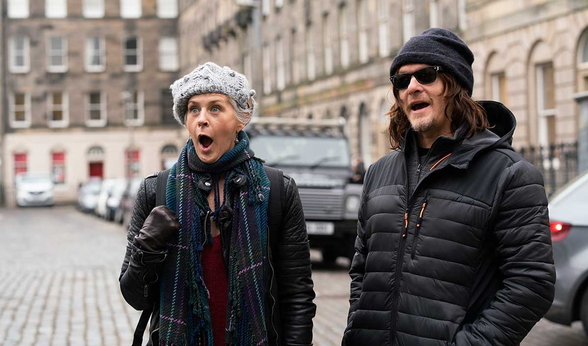 Norman's Ride Through Scotland With Melissa McBride Is Full of Surprises