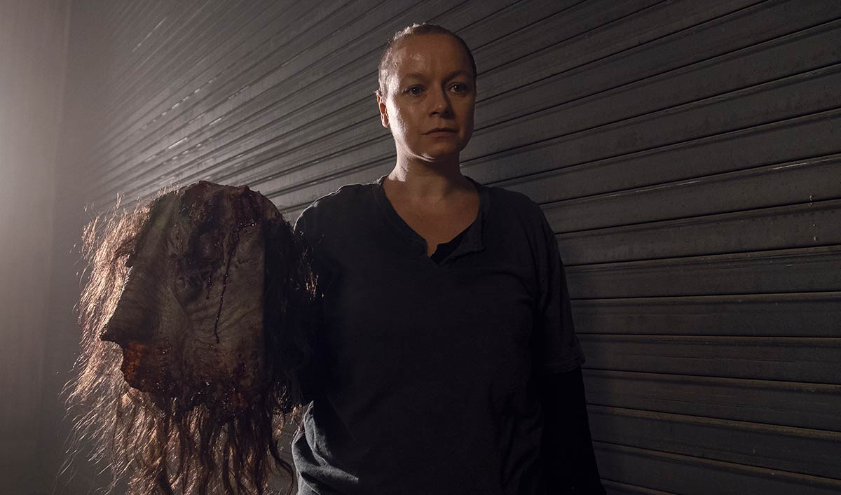 (SPOILERS) <em>The Walking Dead</em> Q&#038;A — Samantha Morton (Alpha)