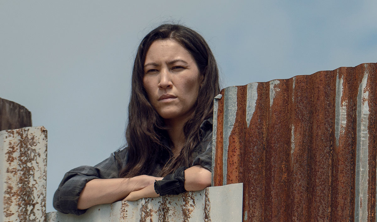 (SPOILERS) <em>The Walking Dead</em> Q&#038;A — Eleanor Matsuura (Yumiko)
