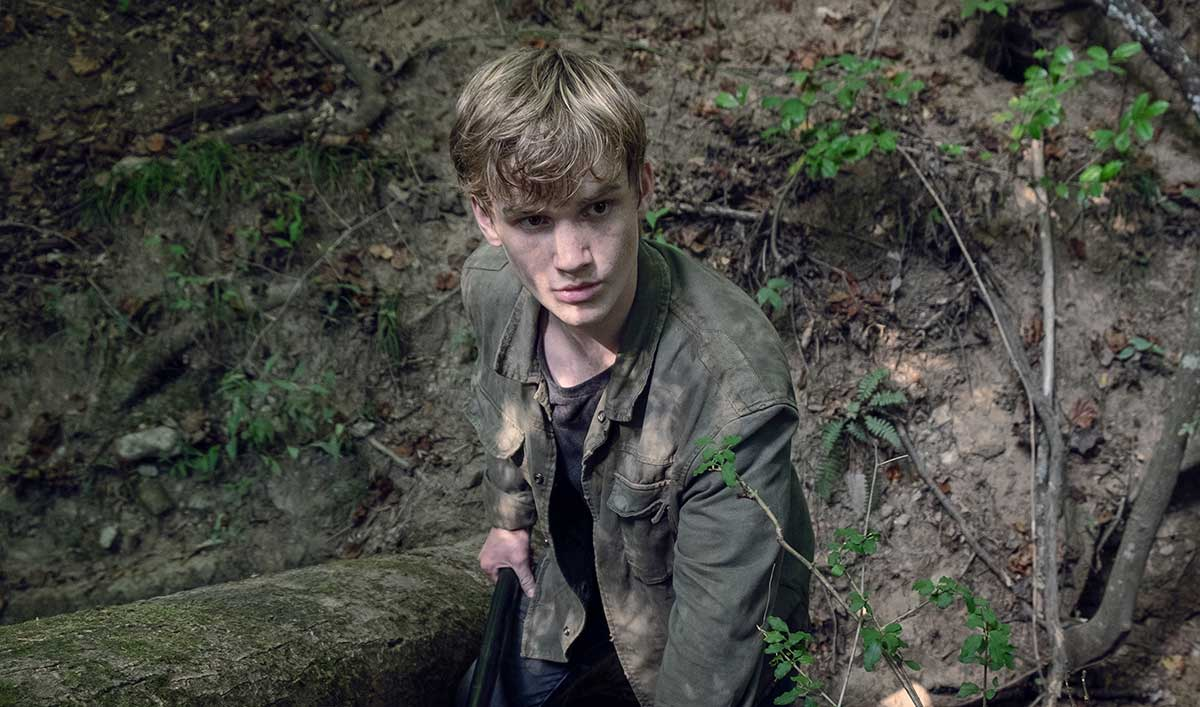 (SPOILERS) <em>The Walking Dead</em> Q&#038;A — Matt Lintz (Henry)