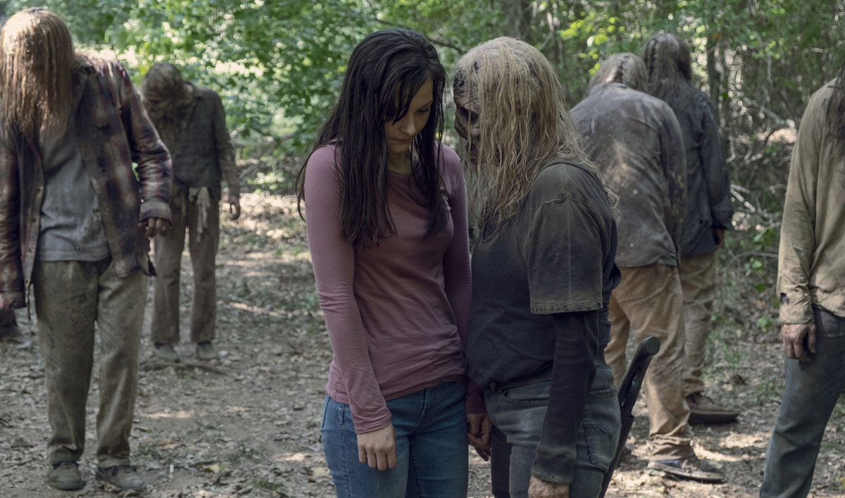 Sneak Peek of <em>The Walking Dead</em> Episode 12 — Alpha Builds Lydia Up to Break Her Down