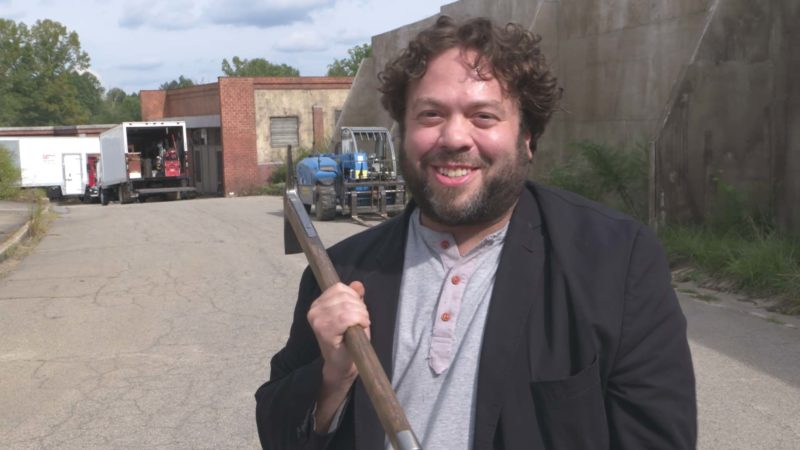 The Walking Dead: On Set With Dan Fogler