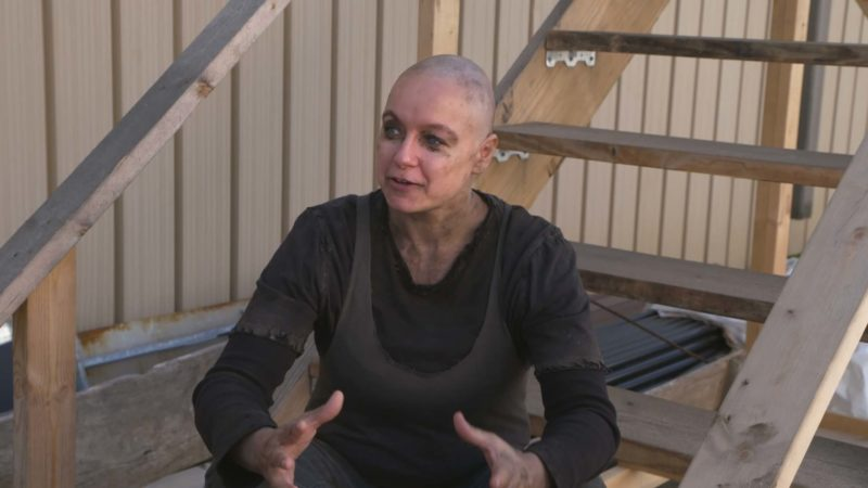 The Walking Dead: On Set With Samantha Morton