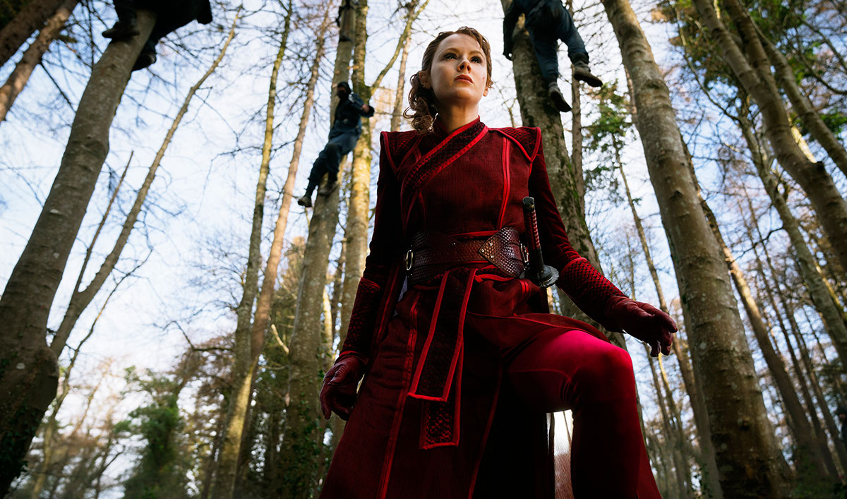 The Widow Is Her Own Worst Enemy — Watch <em>Into the Badlands</em> Episode 10