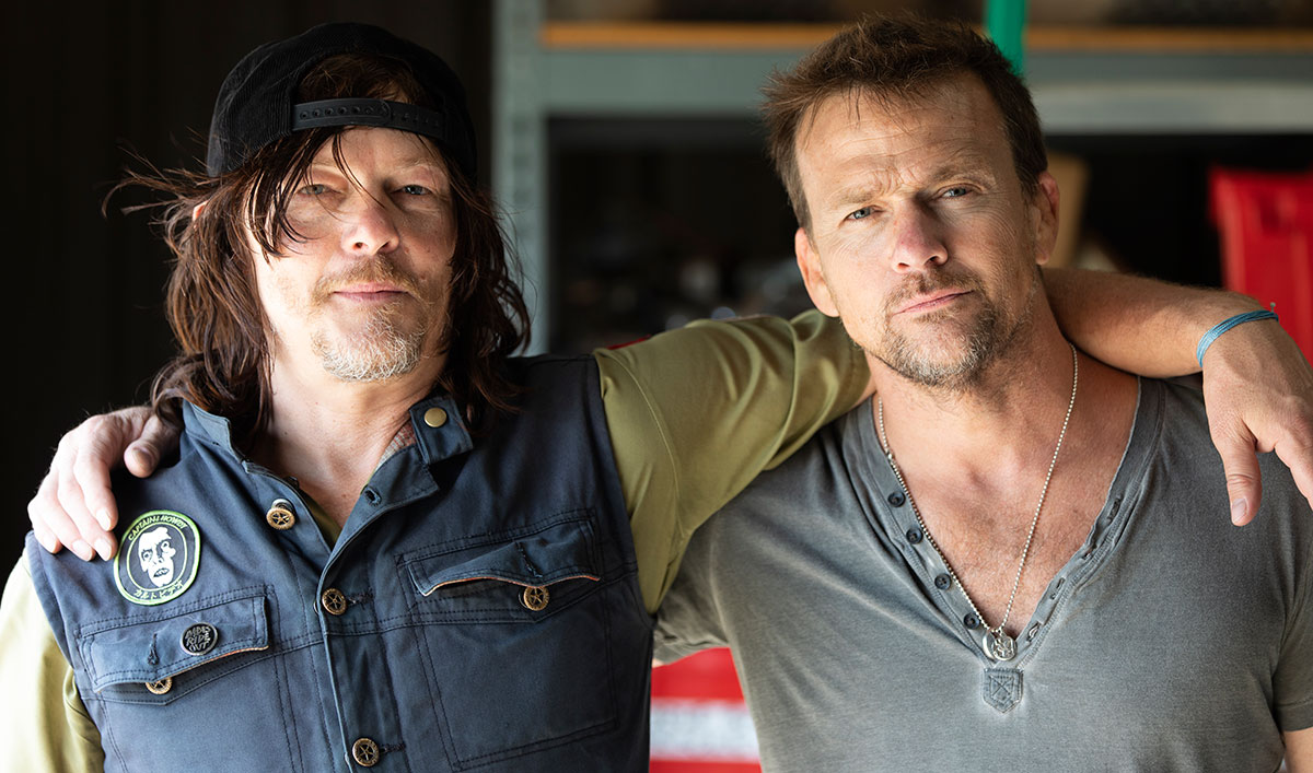 Norman Teams Up With Sean Patrick Flanery to Take on Texas