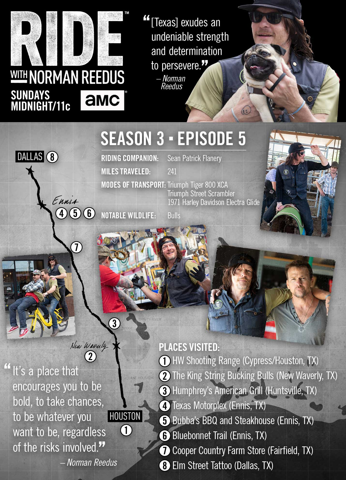 Ride with Norman Reedus - Travelogue - AMC