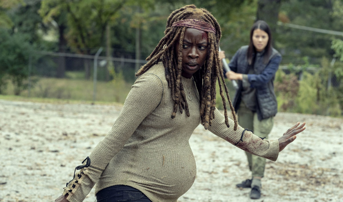 The Heartbreaking Reason Michonne Closed Alexandria's Doors — Watch <em>The Walking Dead</em> Episode 14
