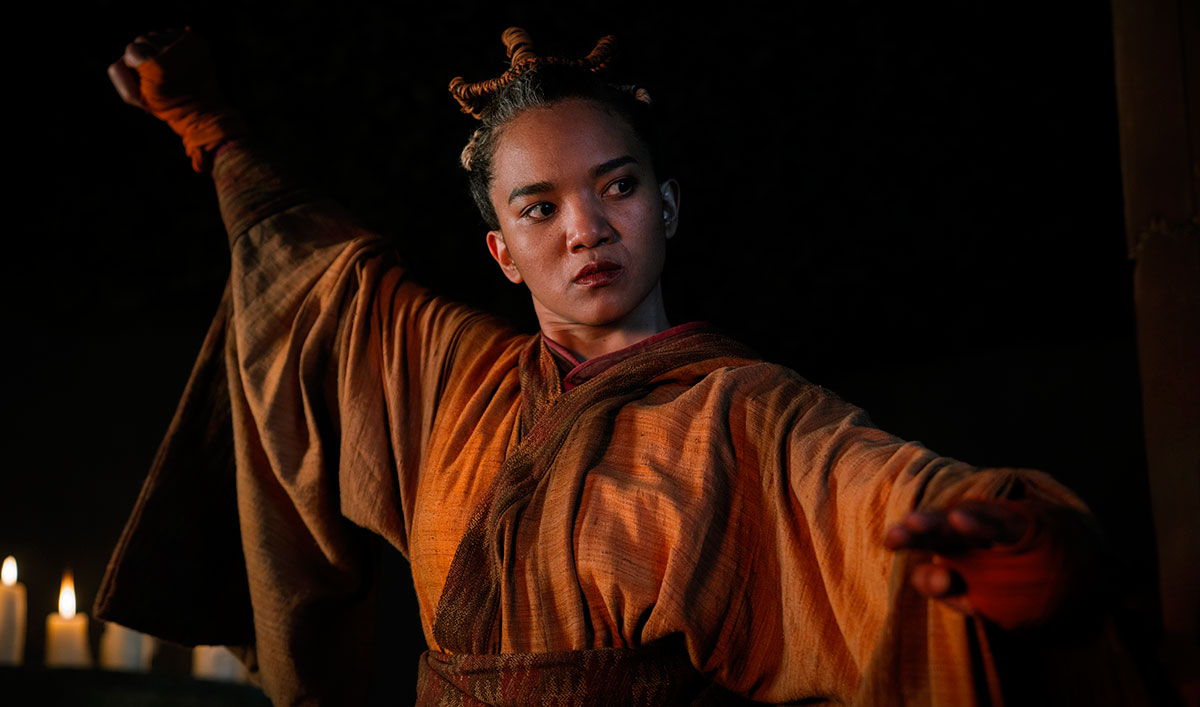 (SPOILERS) <em>Into the Badlands</em> Q&#038;A — Chipo Chung (The Master)