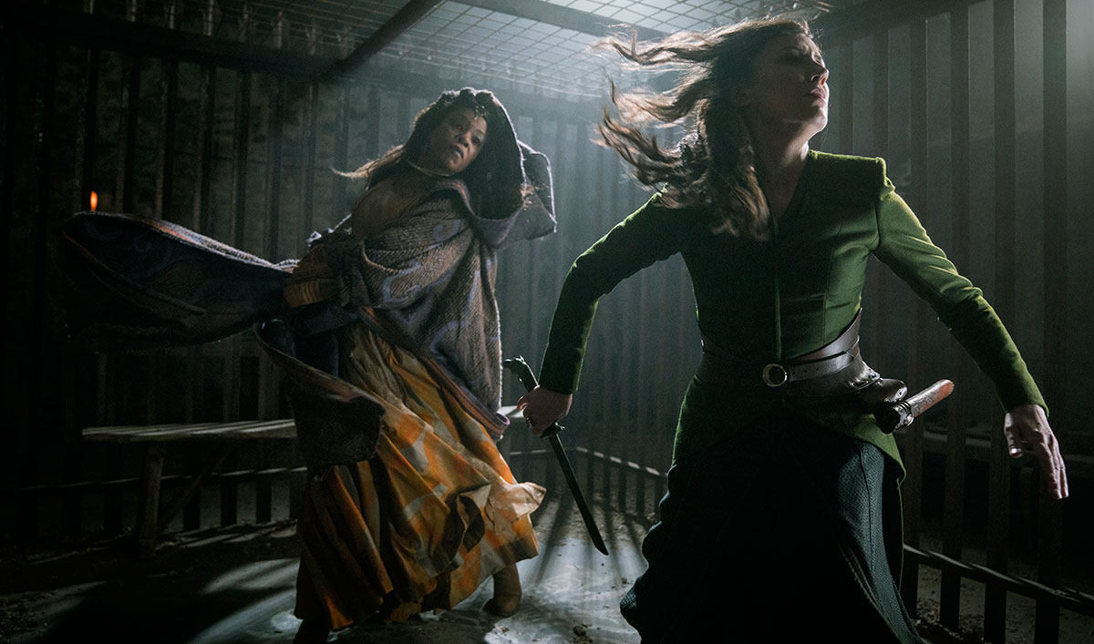 (SPOILERS) Lydia and Cressida Resolve Their Dispute in This Memorable Scene From <em>Into the Badlands</em> Episode 14