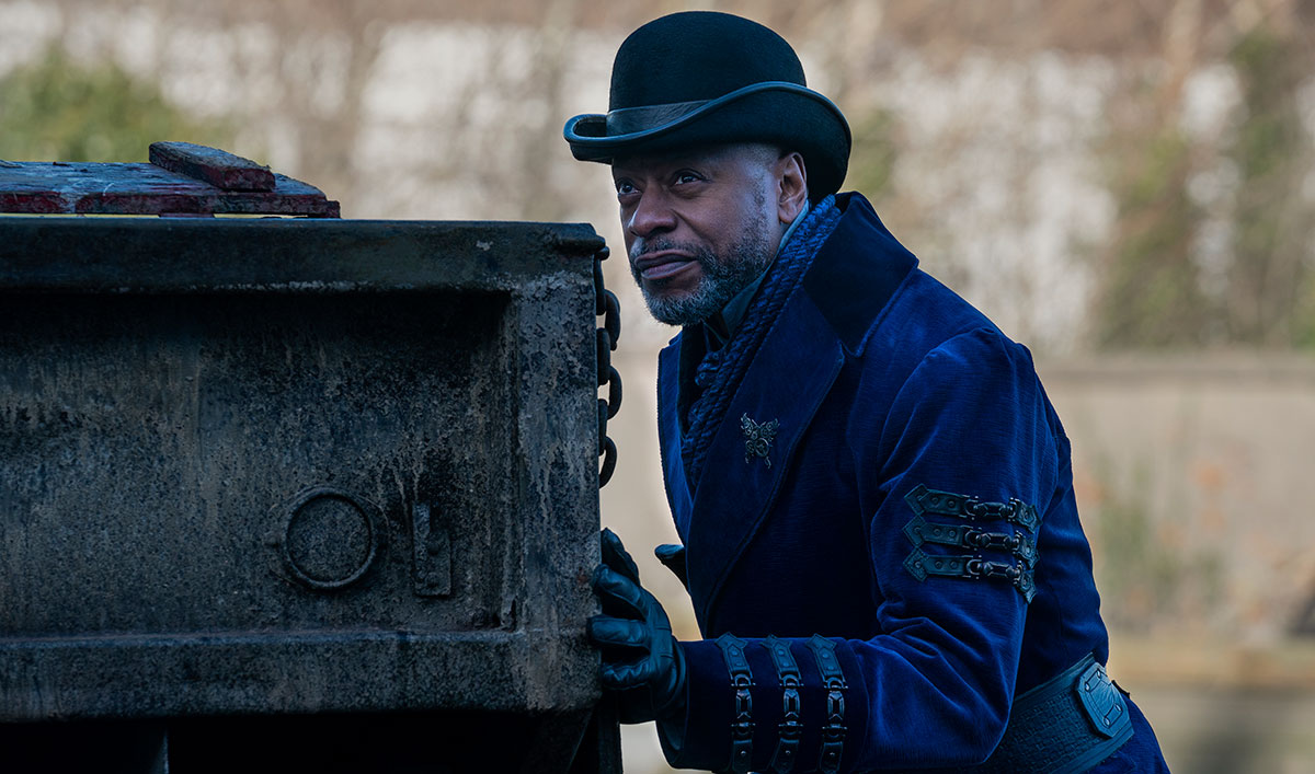 (SPOILERS) <em>Into the Badlands</em> Q&A — Sherman Augustus (Nathaniel Moon)