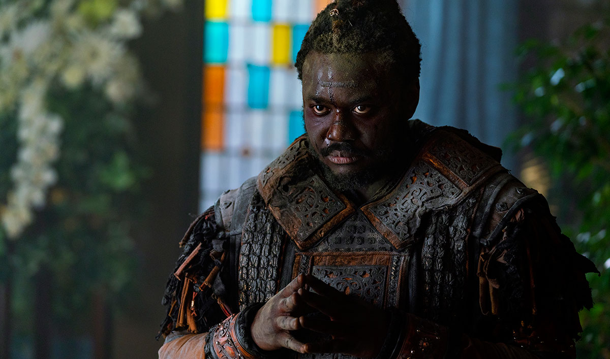 (SPOILERS) <em>Into the Badlands</em> Q&A — Babou Ceesay (Pilgrim)