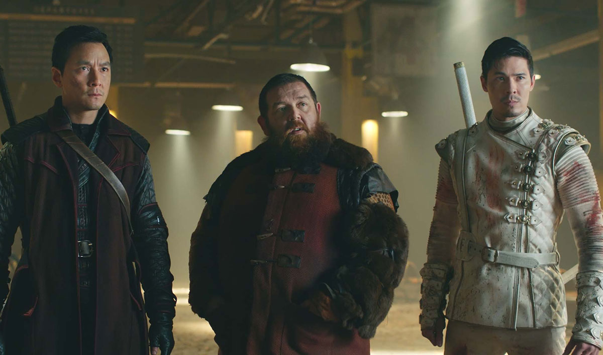 Sunny Appeals to the Black Lotus for Help in This Action-Packed Scene From <em>Into the Badlands</em> Episode 15