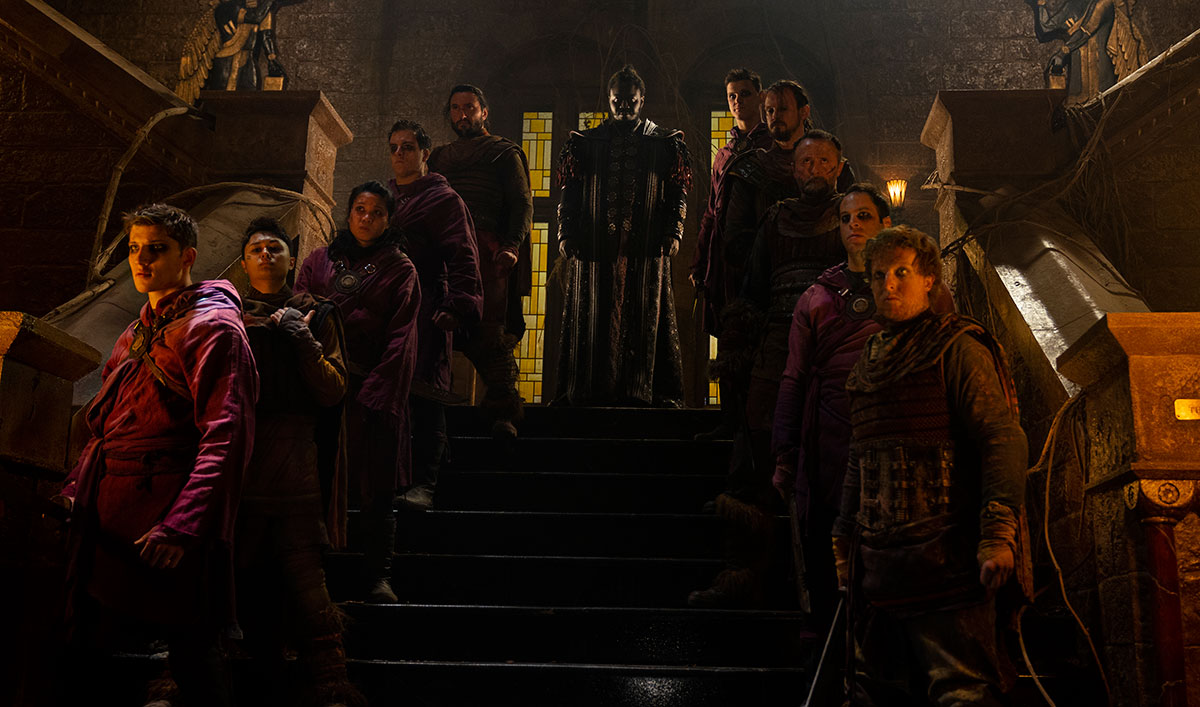 Sneak Peek of <em>Into the Badlands</em> Series Finale — Pilgrim Readies His Troops for the Final Battle