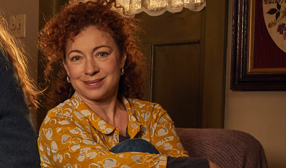 <em>A Discovery of Witches</em> Q&A — Alex Kingston (Sarah Bishop)