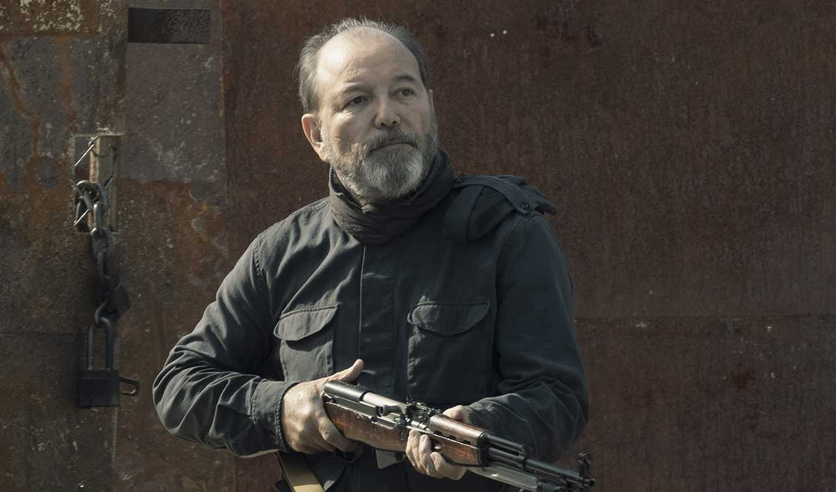 (SPOILERS) <em>Fear the Walking Dead</em> Q&A — Rubén Blades (Daniel)