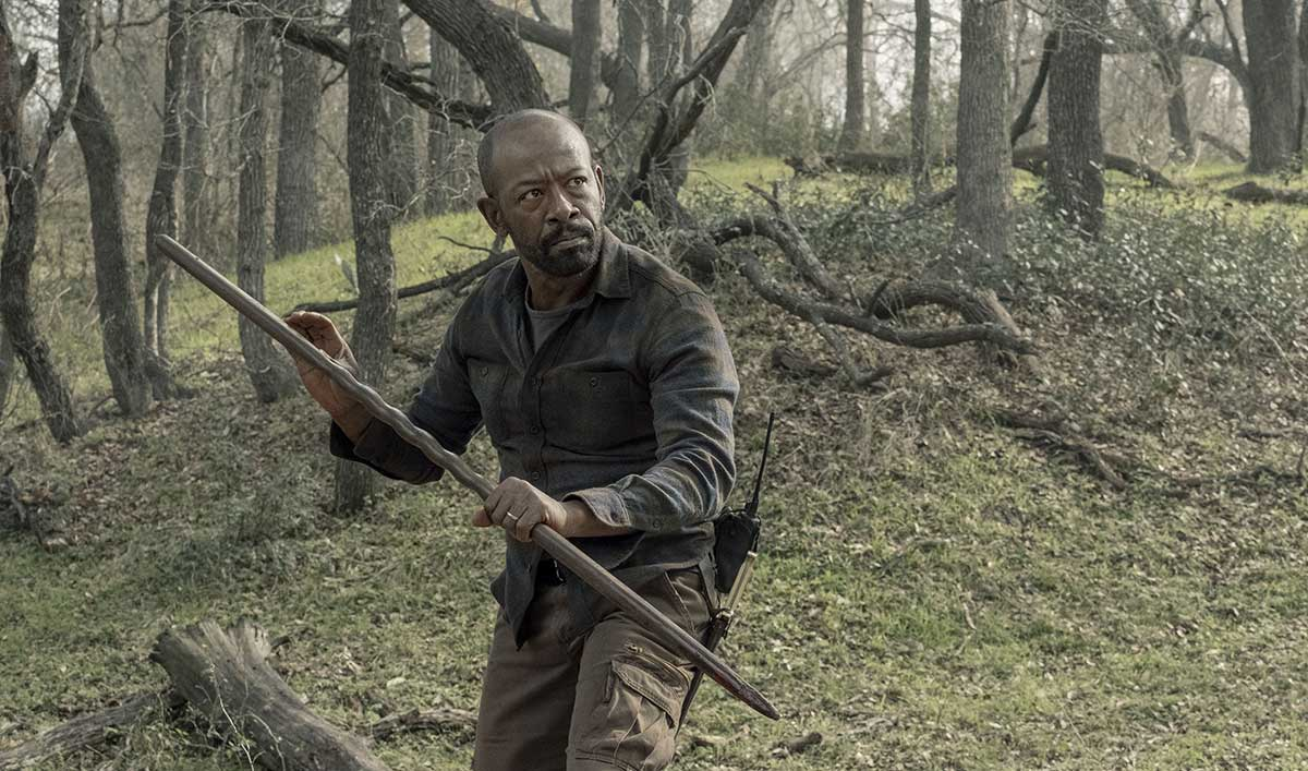 (SPOILERS) <em>Fear the Walking Dead</em> Q&A — Lennie James (Morgan)