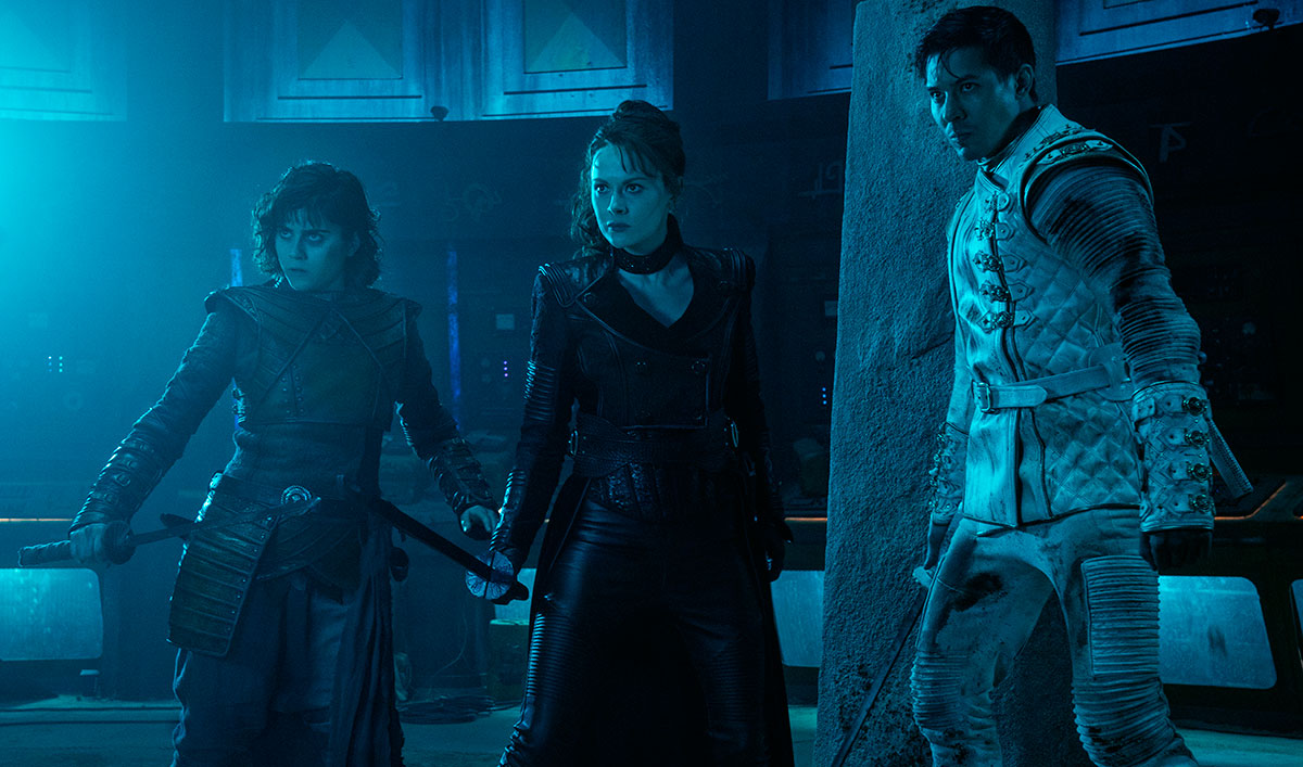 (SPOILERS) Cast and Creators Break Down the <em>Into the Badlands</em> Series Finale