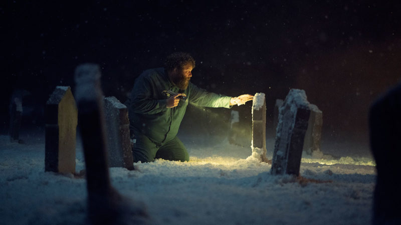 """Charlie Manx Shows Bing the Sinister """"Graveyard of What Might Be"""" in This Creepy Scene From <em>NOS4A2</em> Episode 2"""