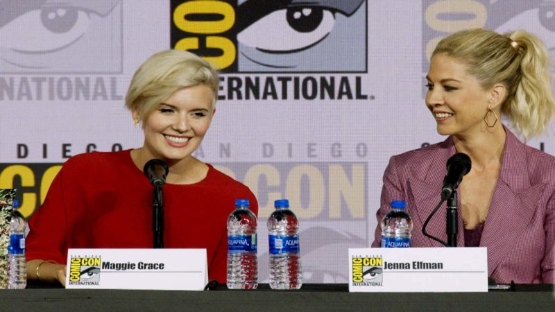 Fear the Walking Dead Comic-Con 2019 Highlight: Maggie Grace Dangled Off a Cliff