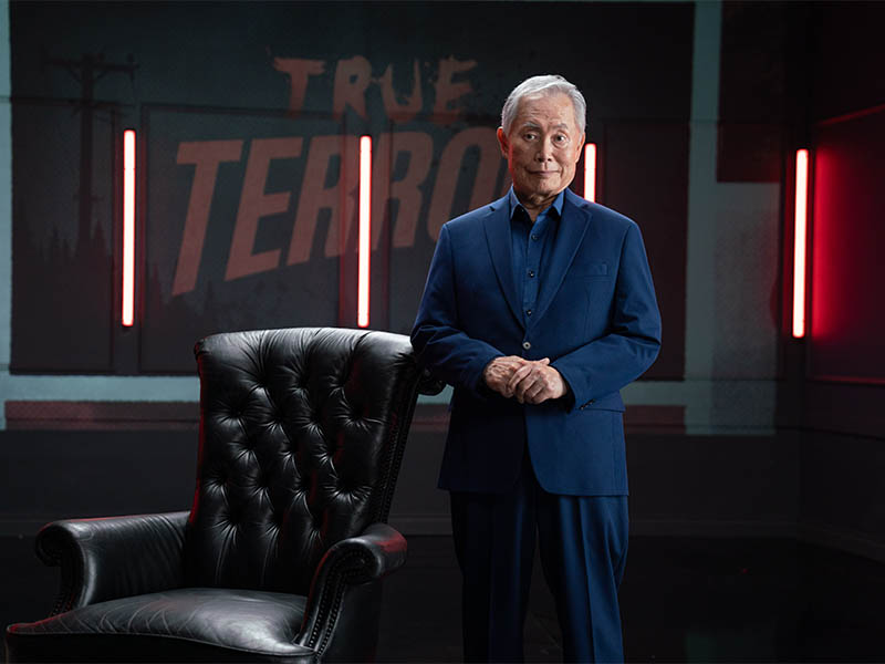 George Takei – True Terror Podcast  – Photo Credit: Michael Moriatis/AMC