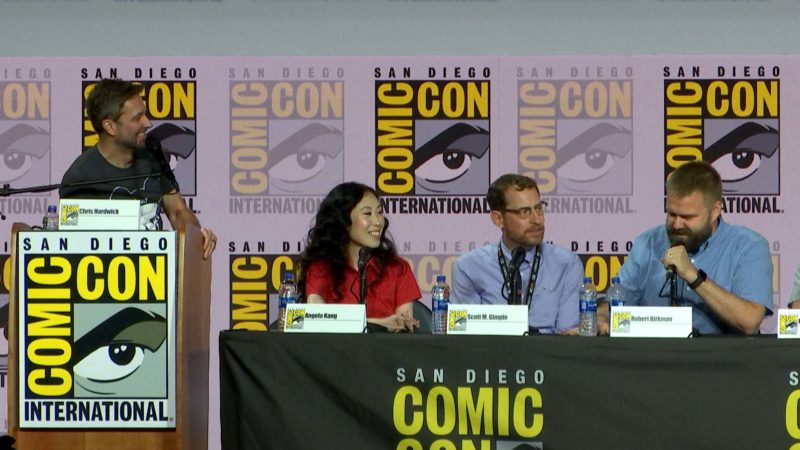 The Walking Dead Comic-Con 2019 Highlight: Robert Kirkman on the End of the Comic