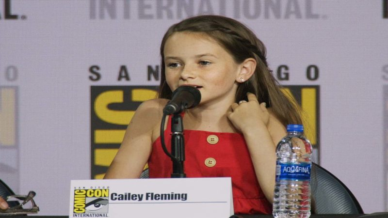 The Walking Dead Comic-Con 2019 Highlight: Cailey Fleming's Dream Weapons