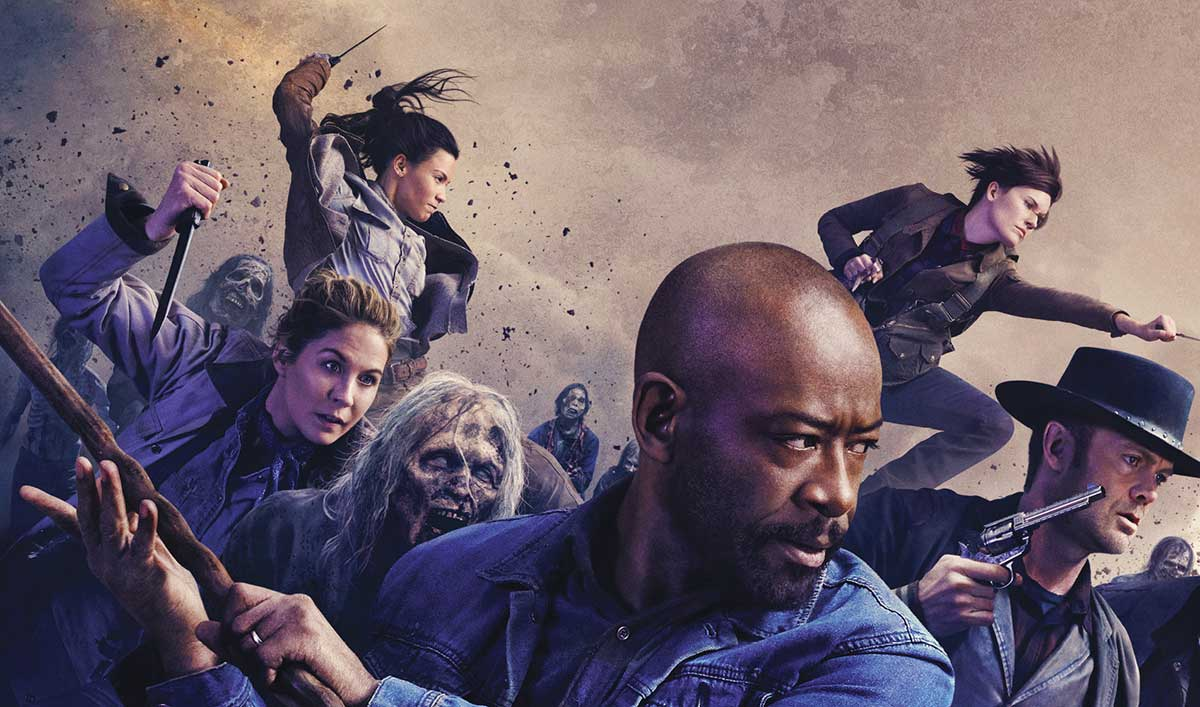 The Cast and Producers of AMC's <em>Fear the Walking Dead</em> Invade San Diego Comic-Con 2019
