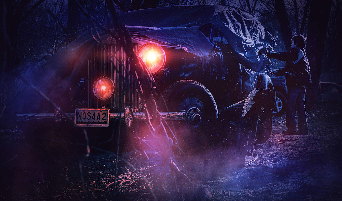 A New Chapter in the Wraith's Deadly Story — Stream Digital Short <em>NOS4A2: Ghost</em> Now