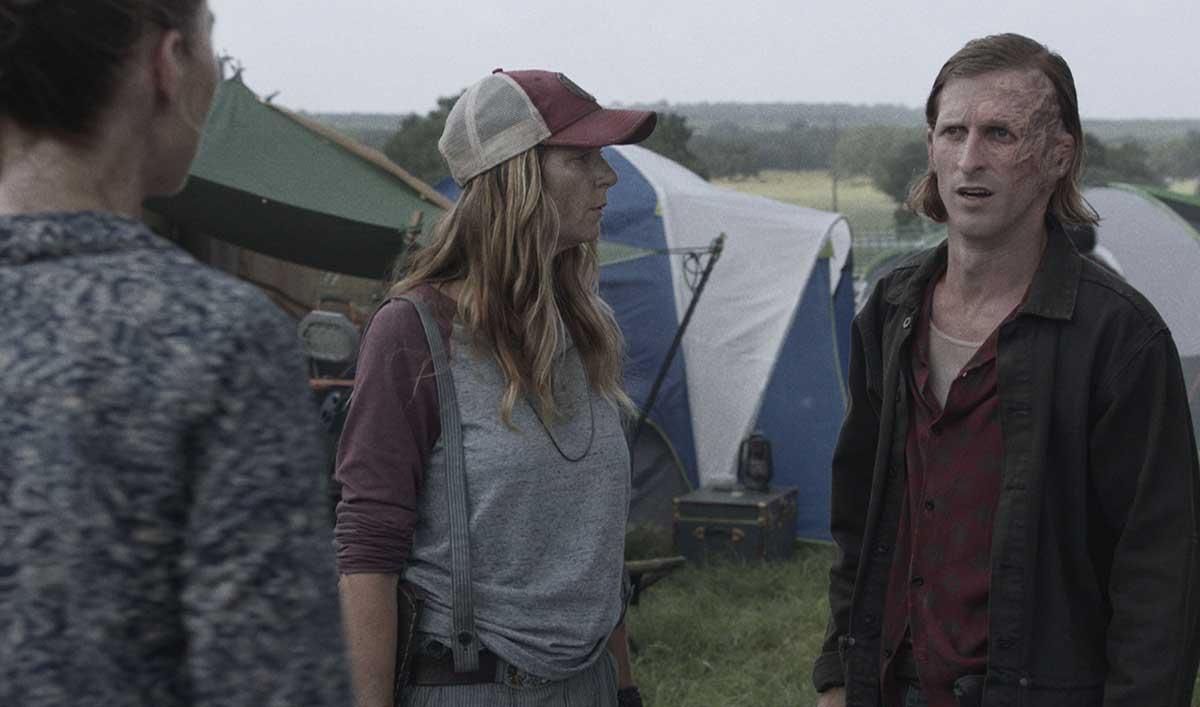<em>Fear the Walking Dead</em> Episode 12 Sneak Peek: Dwight Has Bad News for the Struggling Caravan