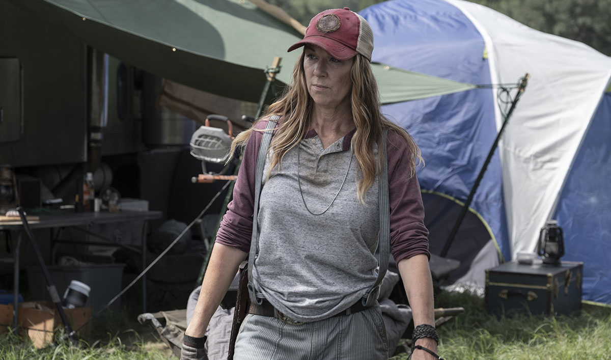 (SPOILERS) <em>Fear the Walking Dead</em> Q&A — Mo Collins (Sarah)