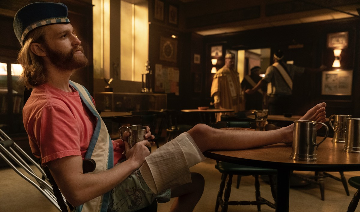 <em>Lodge 49</em> Q&A — Wyatt Russell (Dud)