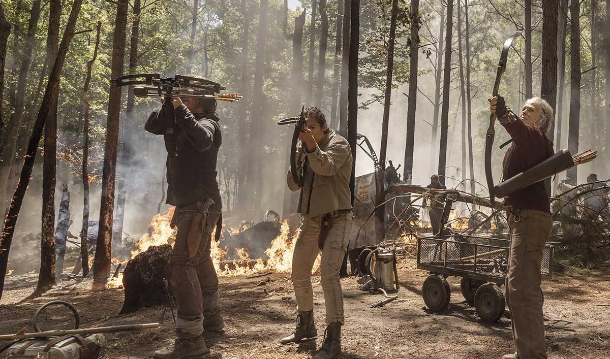 <em>TV Guide</em> Spotlights Rosita Baby Photos; <em>We Got This Covered</em> on New Daryl/Carol <em>TWD</em> Season 10 Clip