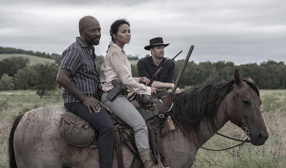 Go Inside Morgan's Final Words in <em>Fear the Walking Dead</em> Season 5