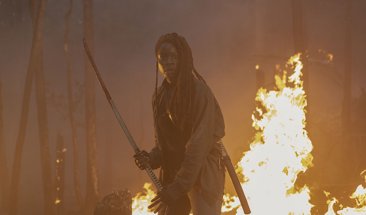 10 <em>The Walking Dead</em> Moments That Prove Michonne Is the Fiercest