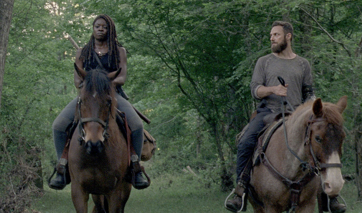 Michonne Doesn't Give a Sh-t About the Whisperers in This Sneak Peek of the Season 10 Premiere of <em>The Walking Dead</em>