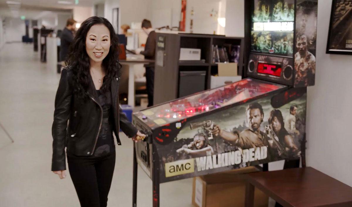 <em>The Walking Dead</em> Showrunner Angela Kang Gives a Tour of the <em>TWD</em> Offices in The Working Dead