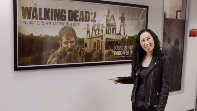 Cassady McClincy (Lydia) and Angela Kang Share Amazing <em>The Walking Dead</em> Fan Art