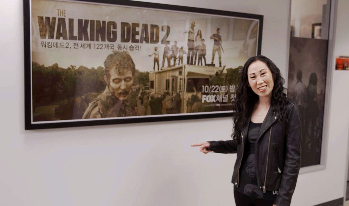 Cassady McClincy (Lydia) and Angela Kang Share Amazing <em>The Walking Dead</em> Fan Art